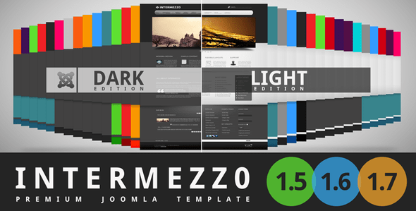 Download Intermezzo Blog Joomla Templates