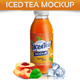 Download Iced Tea Mockup from GraphicRiver