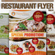 Download Restaurant Flyer Vol.4 from GraphicRiver