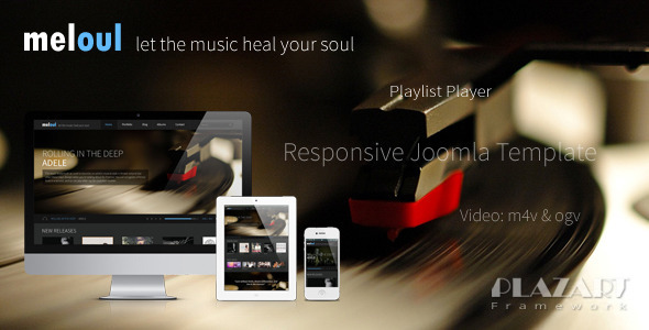 Download Meloul - Music Responsive Joomla Template Music Joomla Templates