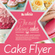 Download Cake Flyer / Magazine Ad from GraphicRiver