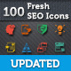 Download Fresh SEO Icons - SEO and Internet Marketing Icons from GraphicRiver