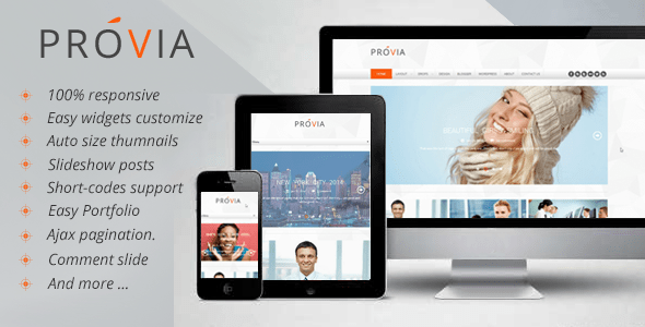 Download Provia - Responsive MultiPurpose Blogger Template Music Blogger Templates