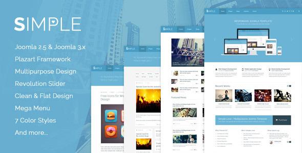 Download Simple Love - Multipurpose Joomla Template Simple Joomla Templates