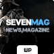 Download SevenMag - Blog and Magazine WP Theme from ThemeForest