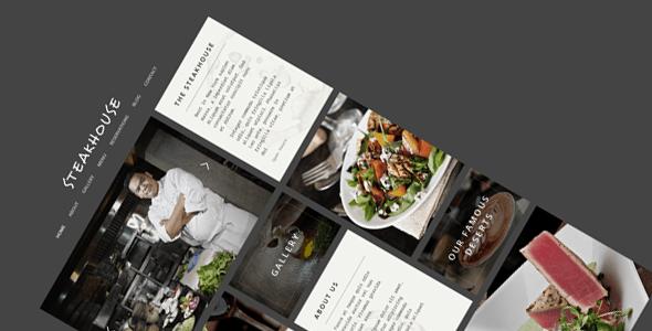 Download Steakhouse – Responsive Retina HTML5 Restaurant Black Joomla Templates