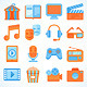 Download Entertainment Icons from GraphicRiver