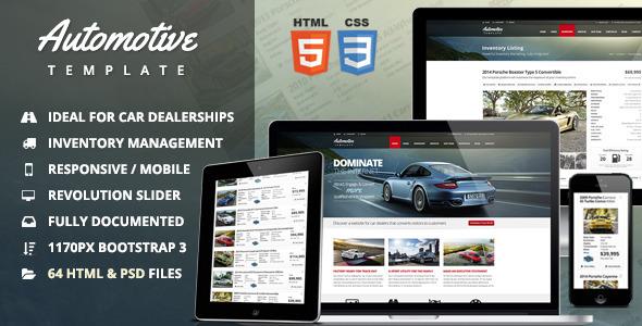 Download Automotive Car Dealership & Business HTML Template Car Html Templates