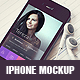 Download Realistic iPhone Mockup from GraphicRiver