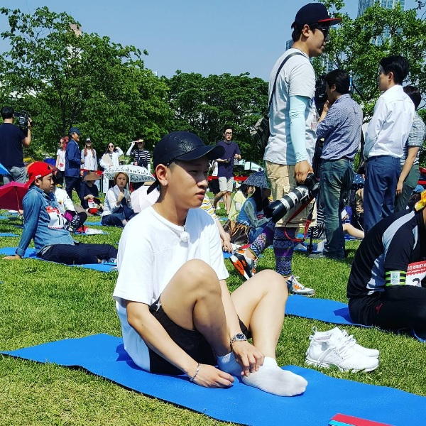 """Singer Crush Wins """"2016 Han River Spacing Out"""" Competition"""