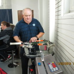 STAC offers stringing service.