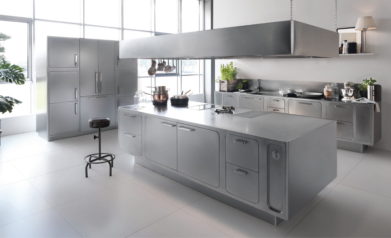 stainless steel kitchen ideas stainless steel kitchen countertops 6 Small Kitchen