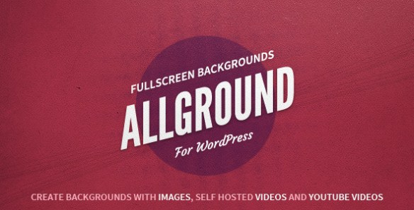 Allground - Responsive Fullscreen Backgrounds for WordPress