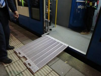 Tram Amsterdam Accessibilité PMR