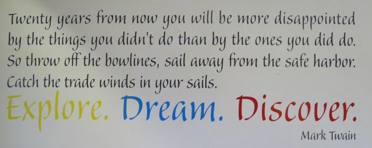 Mark Twain citation voyage tour du monde