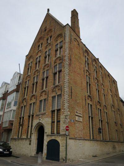 Visiter Bruges fauteuil roulant Musée chocolat
