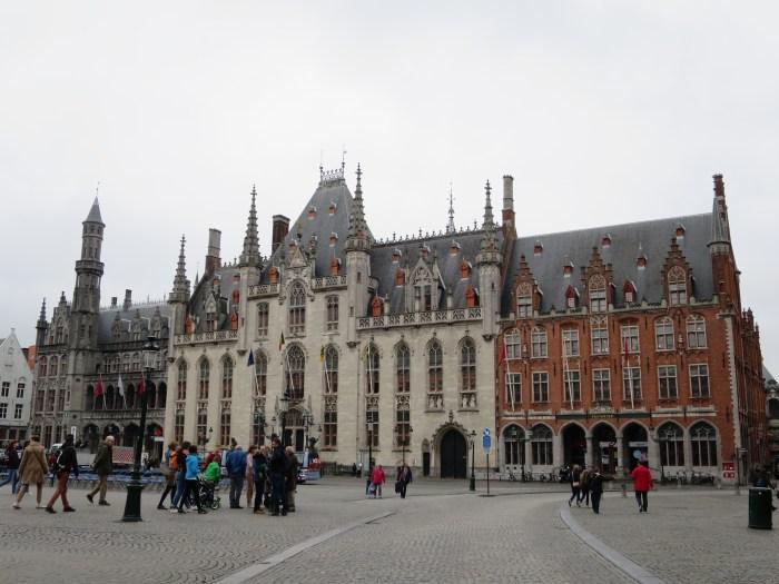 Visiter Bruges fauteuil roulant Historium