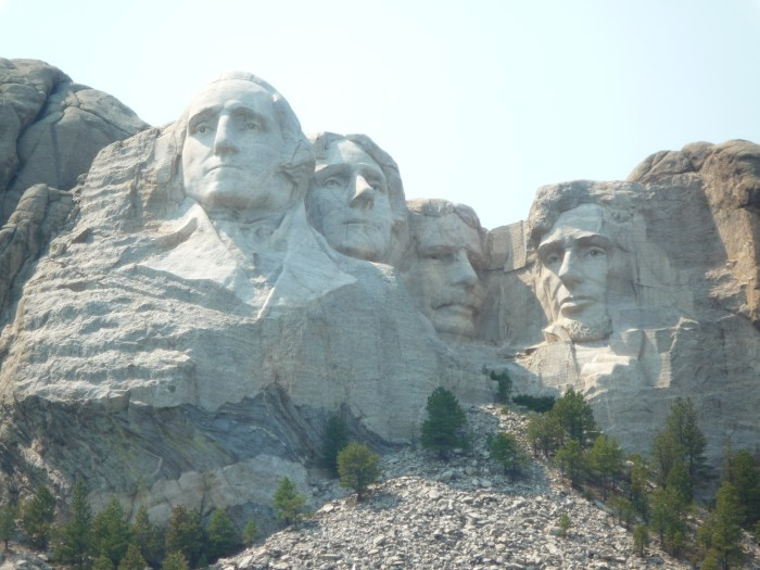 Ouest américain Mont Rushmore