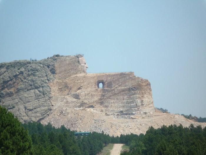 Ouest américain Crazy Horse memorial 2