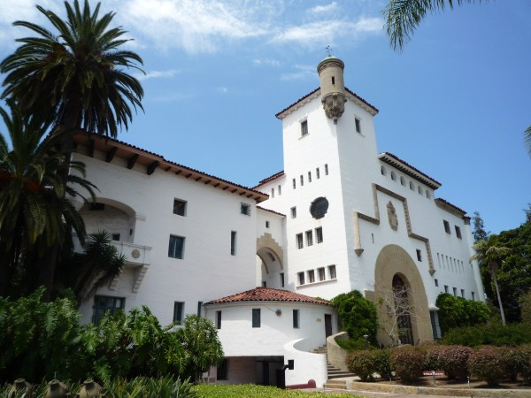 Ouest américain Santa Barbara County Courthouse