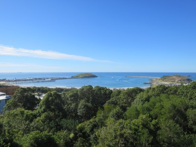 Coffs Harbour Beacon Hill lookout