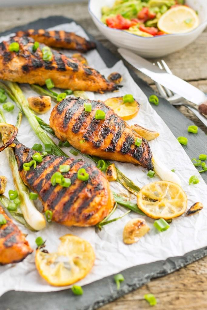 Lemon Garlic BBQ Chicken - summer recipes