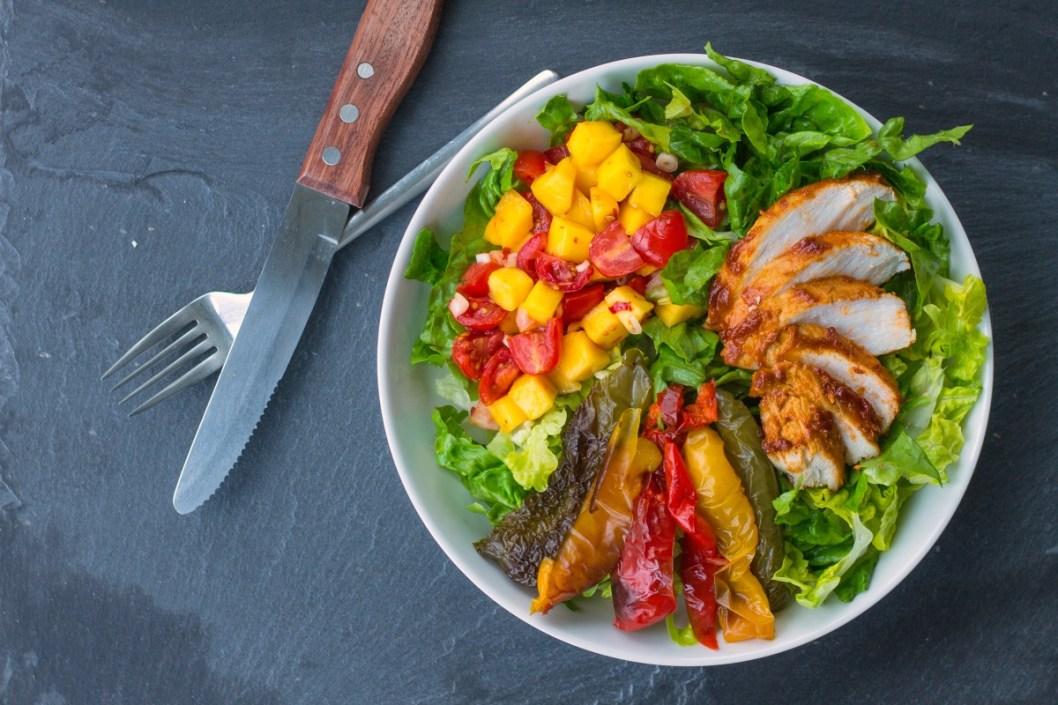 BBQ Chicken Salad-11
