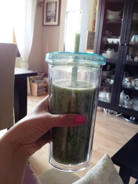 Green Smoothie Breakfast