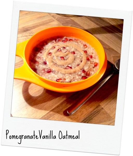vanilla oatmeal