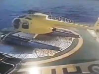 しょうもないミスで墜落してしまったヘリコプターのビデオ。あああああ(@_@;)