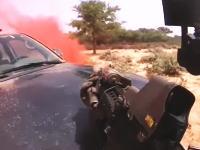 ISISゲリラとの戦闘中に被弾して亡くなった米軍特殊部隊のヘルメットカムが公開される。