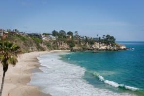 Arch Bay, Laguna Beach, Kaliforninen USA