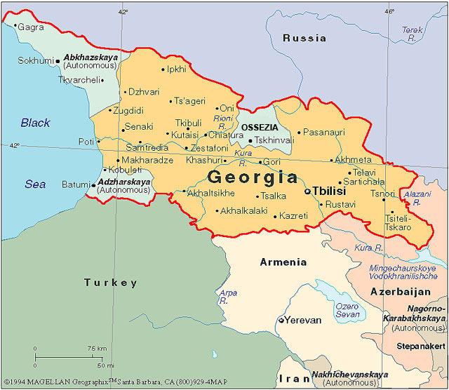 Georgia –Colchide. La terra del vello d'oro.