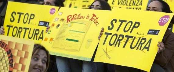 2016, anno 70 della Repubblica  – La tortura non è reato: una vergogna !