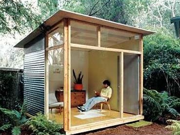 She shed / shed quarters