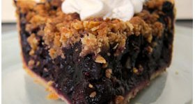 High 5 Pie, Marionberry slice