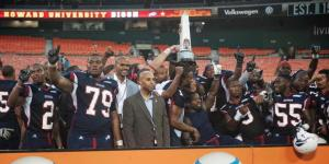 Howard beats Morehouse, 30-29, at the second annual Nation's Football Classic at RFK Stadium in Washington, D.C.
