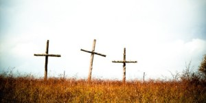 Easter crosses - Creative Commons