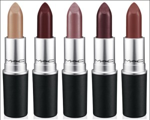 Dark lipsticks to match the fall season.