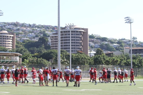 Fresno State practices to take on Rice in the Hawaii bowl, and we project a 35-29 victory.