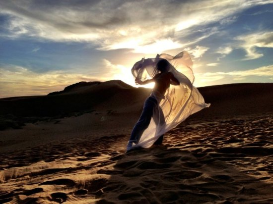 """Desert Dancer,"" a film by first-time director Richard Raymond, focuses on an underground troupe that performs in the desert since dancing is banned in Iran."