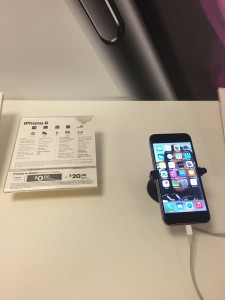 Apple iPhone 6 display in the Sprint PCS store, Washington, D.C.