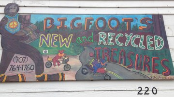 Bigfoot's New & Recycled Treasures, Rio Dell