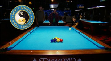 Rose's Billiards, Eureka