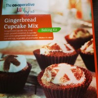 Gingerbread Cupcake Mix - by the Cooperative