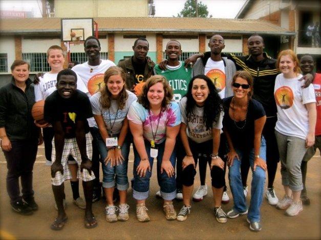 Basketball camp staff 2011