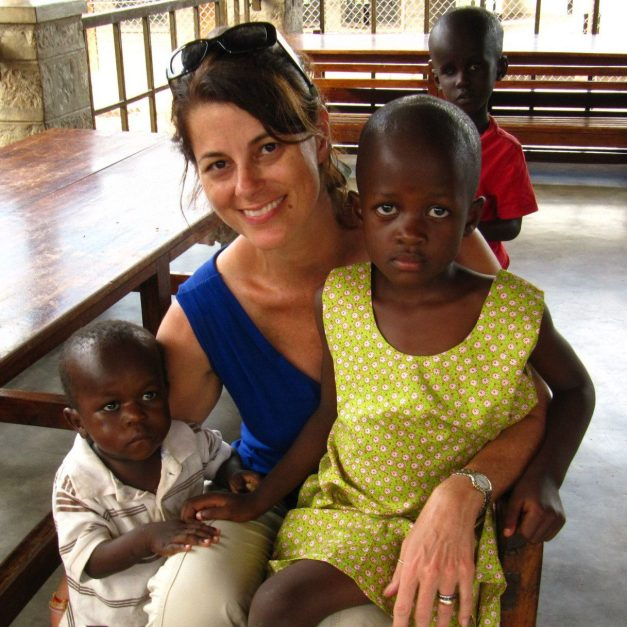 Faith and Marvin, 2 of our sponsored kids