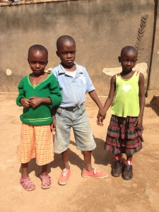 The children whose homes we visited Wednesday