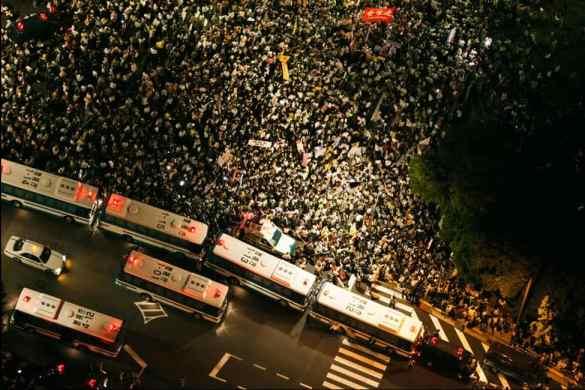 tokyo anti nuke protest
