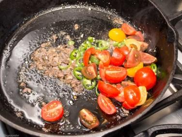 Pasta met boerenkool, peper en mascarpone-28